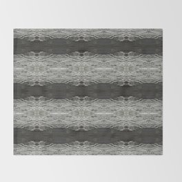 Oak Tree Bark Horizontal Nature Pattern by Debra Cortese Designs Throw Blanket