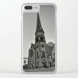 Detroit Architecture 1 Clear iPhone Case