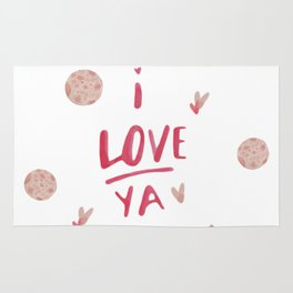 I love you to the moon and back ! Rug