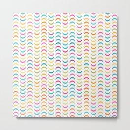 Lovely geometric Pattern VVV Metal Print