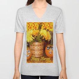 """"""" Happy Harvest """" Unisex V-Neck"""