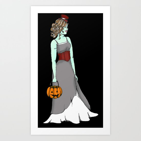 Halloween Treats Art Print