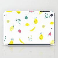 fruits iPad Cases featuring Fruits by haroulita