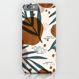 Oliver Palms Earthy iPhone Case