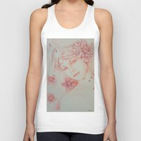 leah flores Tank Tops featuring Flores. by marmaseo