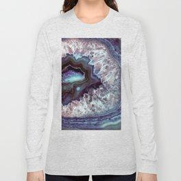 Ocean Blues Quartz Crystal Long Sleeve T-shirt