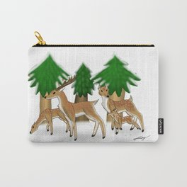 Winter herd Carry-All Pouch