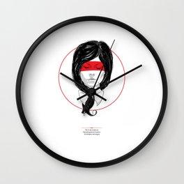 Whispers & Tongue Wall Clock