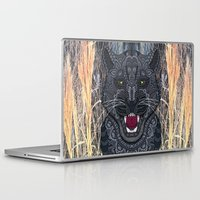 panther Laptop & iPad Skins featuring Panther by ArtLovePassion