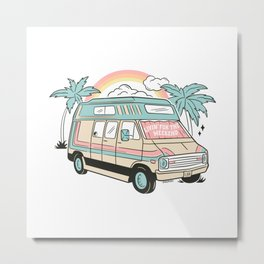 LIVIN' FOR THE WEEKEND Metal Print