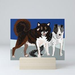 Karafuto Ken - Sakhalin husky Mini Art Print