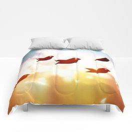 Sky Birds Comforters