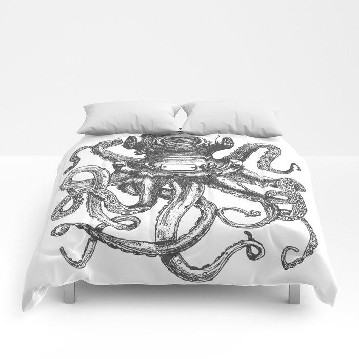 Deep Sea Diver 2 Comforters