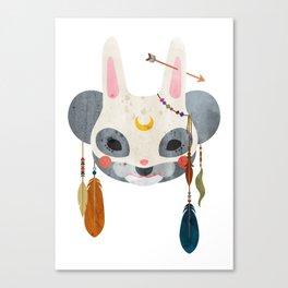 koala masquerade Canvas Print