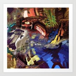 Oppidian Refractions Art Print