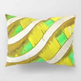 Pop Art Urban Architecture Apartment Block Pillow Sham