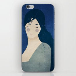 My tears are blue iPhone Skin