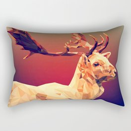 Deer Shine Rectangular Pillow