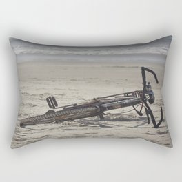 Lost Bicycle Rectangular Pillow