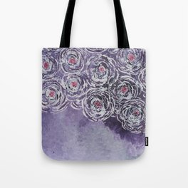 Art-ichoke in purple Tote Bag