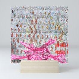 Pink Architecture Mini Art Print