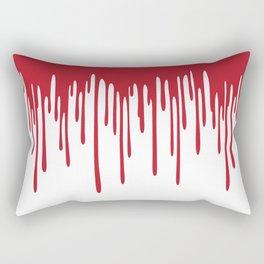 Blood Drippings Rectangular Pillow