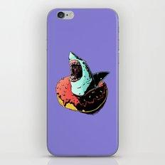 donut shark! iPhone & iPod Skin