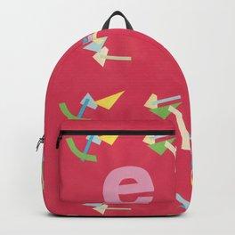 Letter E Pure Star Kids Backpack