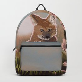 Maned Wolf at Sunset Backpack