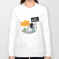 yellow submarine Long Sleeve T-shirts featuring Yellow Submarine by Ewan Arnolda