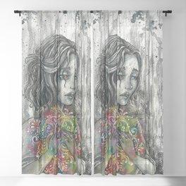 Inside Sheer Curtain