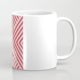 Floral Chevron Coffee Mug