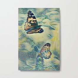 BOOFLIES Metal Print
