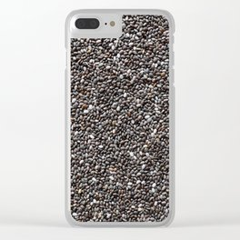 Chia seeds Clear iPhone Case