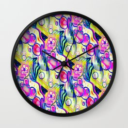 Rokin Marker Abstract 2 Wall Clock