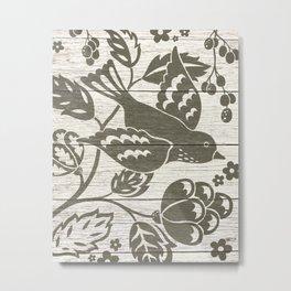 In Flight Metal Print