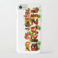 rio de janeiro iPhone & iPod Cases featuring Rio de Janeiro by J. Ekstrom