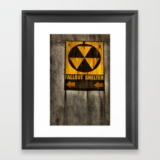 Fallout Shelter Framed Art Print