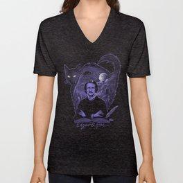Edgar Allan Poe Gothic Unisex V-Neck