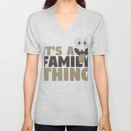 Fun Family It's A Family Thing Unisex V-Neck