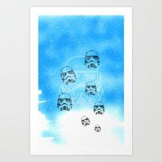 Stormtrooper Dreams Art Print