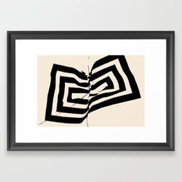 Mountain Heart 2 Framed Art Print