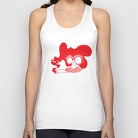 marx Tank Tops featuring Groucho Marx by Stephanie Keir