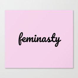 feminasty woman Canvas Print
