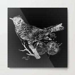 Bird Wanderlust Metal Print