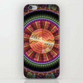 fractal: wonderwheel iPhone Skin