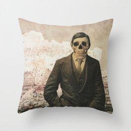 dermis_4 Throw Pillow