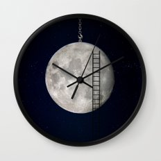 I'll Take You To The Moon Wall Clock