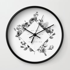 The End Is The Beginning Wall Clock