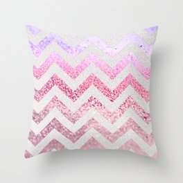 FUNKY MELON PINKBERRY Throw Pillow